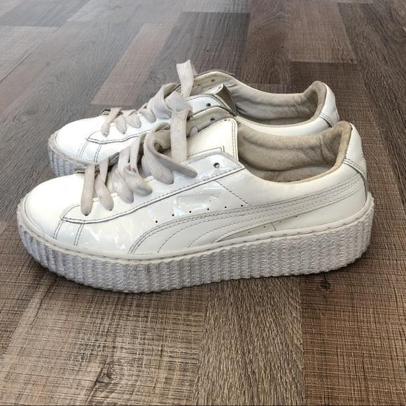 Puma Shoes   Rihanna Fenty Puma White